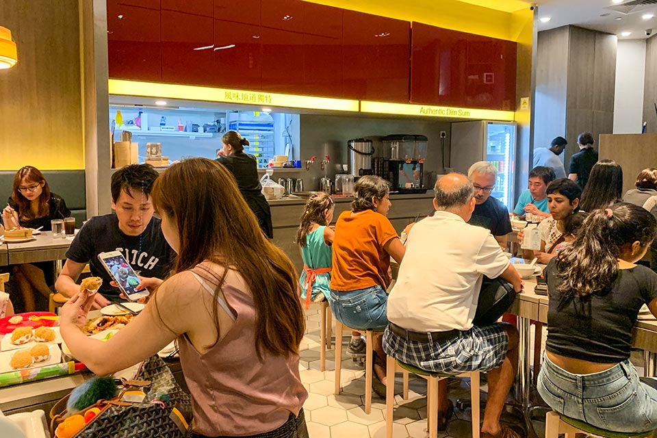 Food Hawker Centres in Singapur