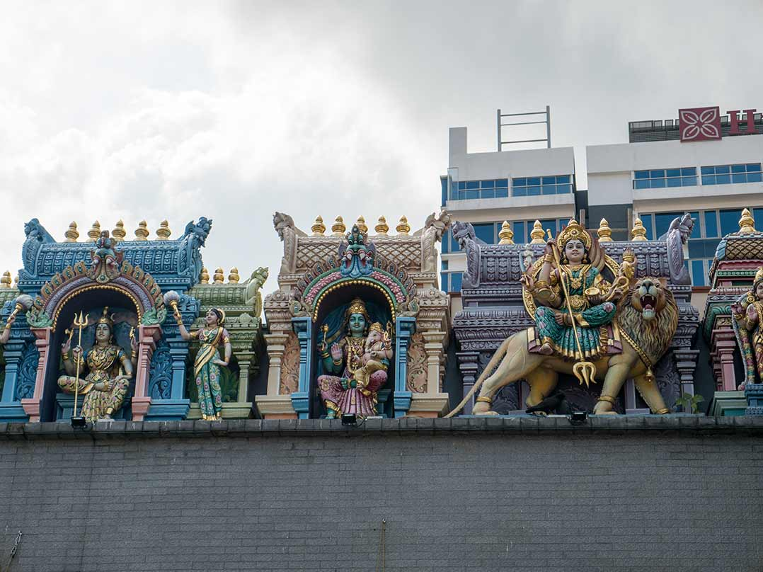 Sri Veeramakaliamman Tempel in Little India