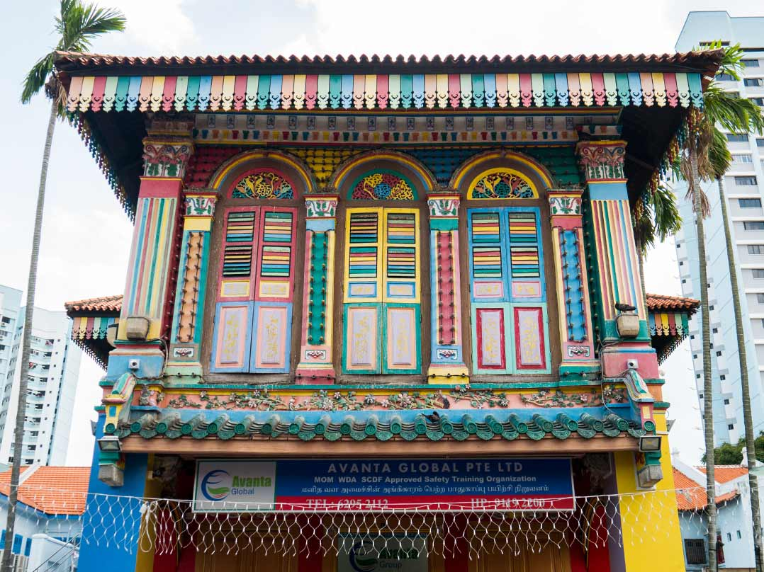 Haus von Tan Teng Niah in Little India